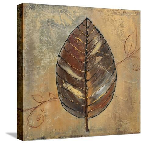 New Leaf II (mustard)-Patricia Pinto-Stretched Canvas Print