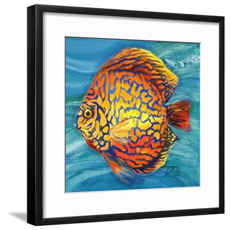 Aquatic Life II (Vibrant Sea Life IV)-Patricia Pinto-Framed Art Print