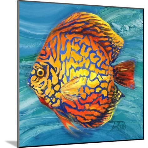 Aquatic Life II (Vibrant Sea Life IV)-Patricia Pinto-Mounted Premium Giclee Print