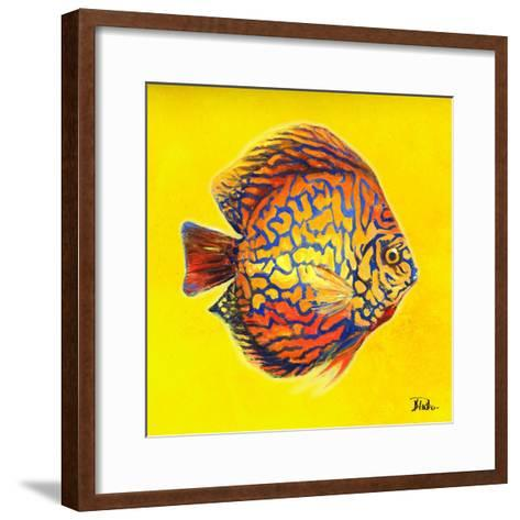 Bright Aquatic Life I-Patricia Pinto-Framed Art Print