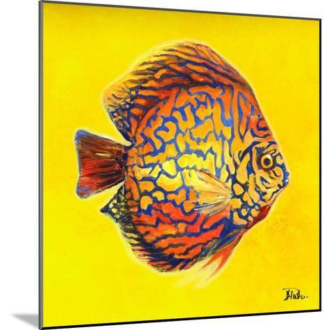 Bright Aquatic Life I-Patricia Pinto-Mounted Premium Giclee Print