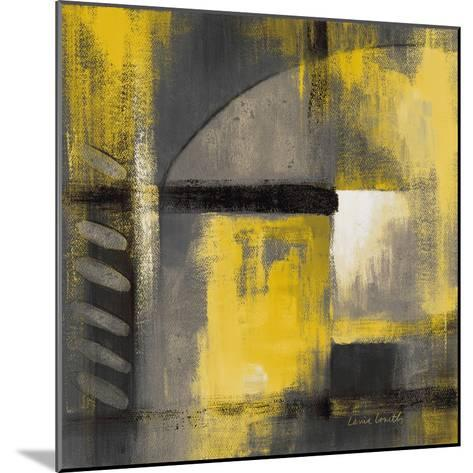 Grey and Yellow Soiree I-Lanie Loreth-Mounted Art Print