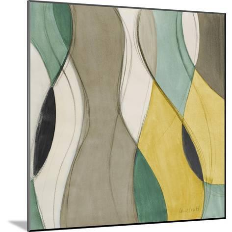 Coastal Teal Coalescence I-Lanie Loreth-Mounted Premium Giclee Print