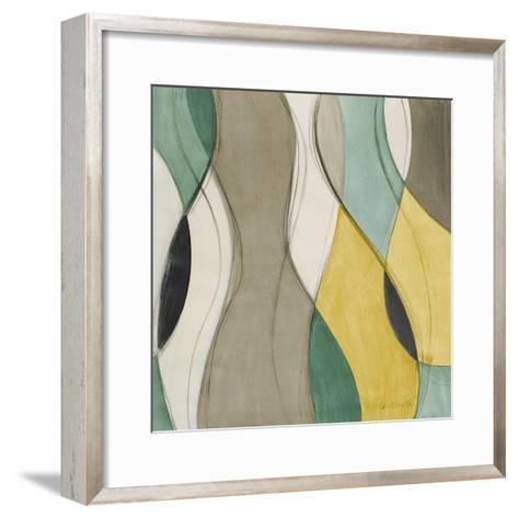 Coastal Teal Coalescence I-Lanie Loreth-Framed Art Print