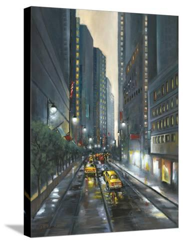 City Street II-J^ Adams-Stretched Canvas Print