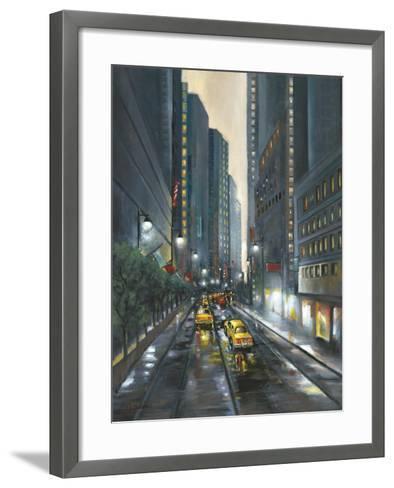 City Street II-J^ Adams-Framed Art Print