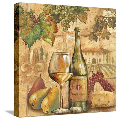 Umbrian Beauty - Wine-Gregory Gorham-Stretched Canvas Print