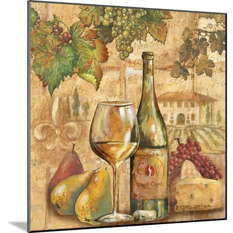 Umbrian Beauty - Wine-Gregory Gorham-Mounted Premium Giclee Print