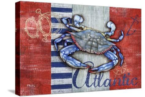 Maritime Crab-Paul Brent-Stretched Canvas Print