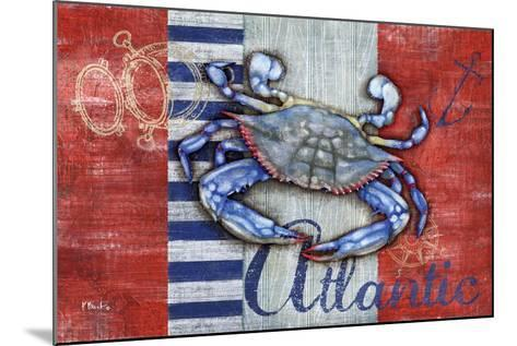 Maritime Crab-Paul Brent-Mounted Art Print