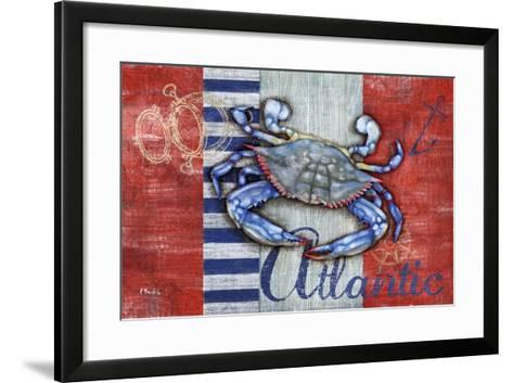 Maritime Crab-Paul Brent-Framed Art Print