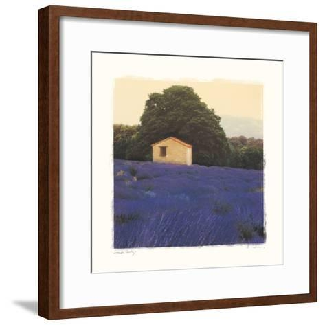 Lavender Country-Amy Melious-Framed Art Print