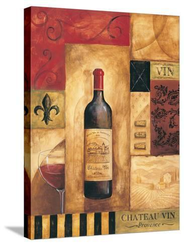 Chateau Vin-Gregory Gorham-Stretched Canvas Print