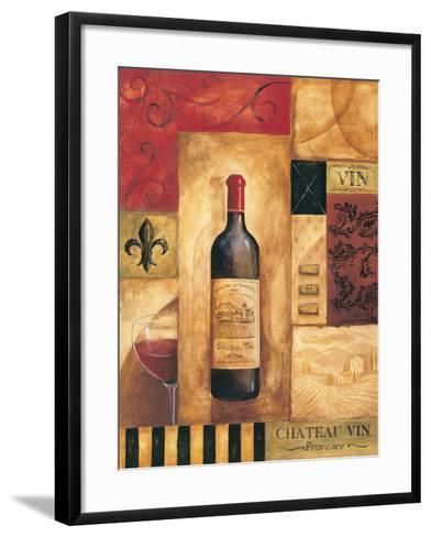 Chateau Vin-Gregory Gorham-Framed Art Print