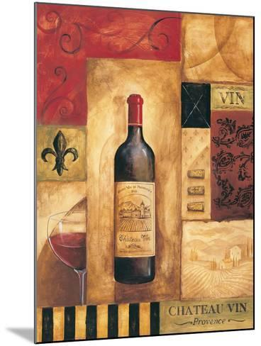 Chateau Vin-Gregory Gorham-Mounted Art Print