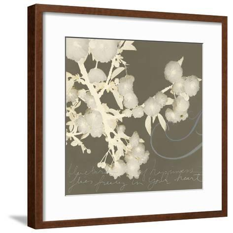 Wishes and Leaves II-Amy Melious-Framed Art Print
