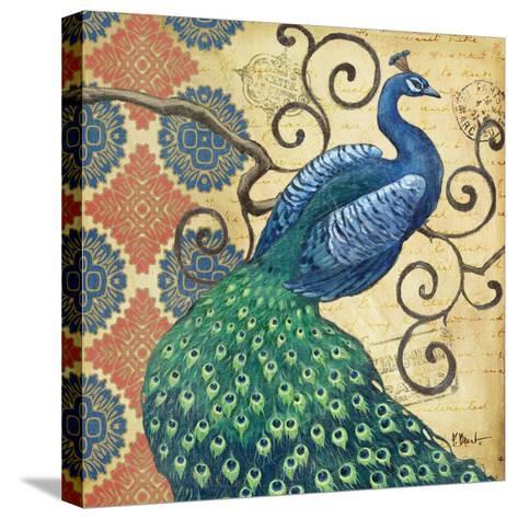 Peacock's Splendor I-Paul Brent-Stretched Canvas Print