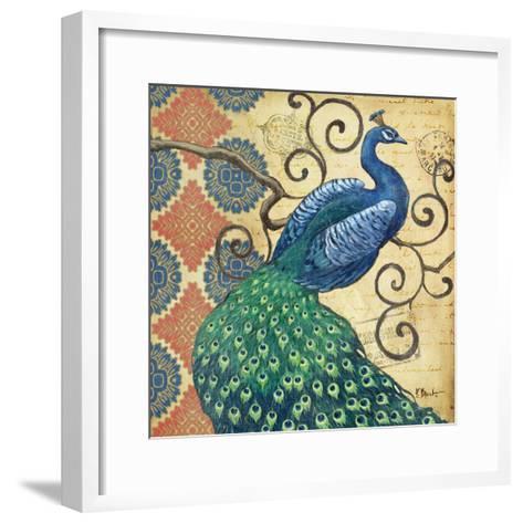 Peacock's Splendor I-Paul Brent-Framed Art Print