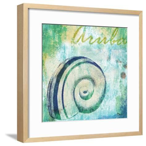 Martinique Shells III-Paul Brent-Framed Art Print