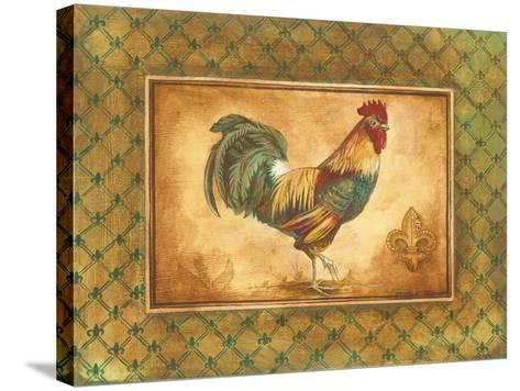 Country Rooster I-Gregory Gorham-Stretched Canvas Print