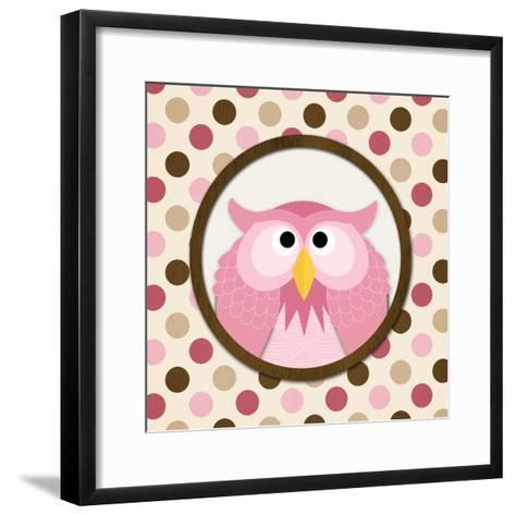 O Is for Owl II-N^ Harbick-Framed Art Print