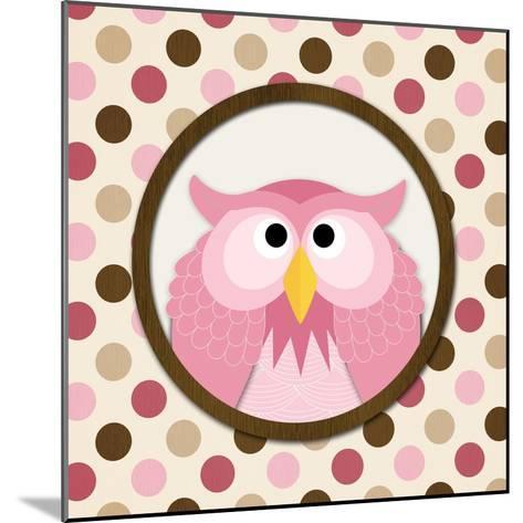 O Is for Owl II-N^ Harbick-Mounted Art Print