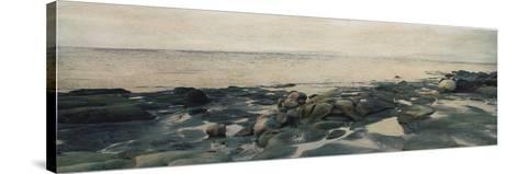 Rocky Shores II-Amy Melious-Stretched Canvas Print