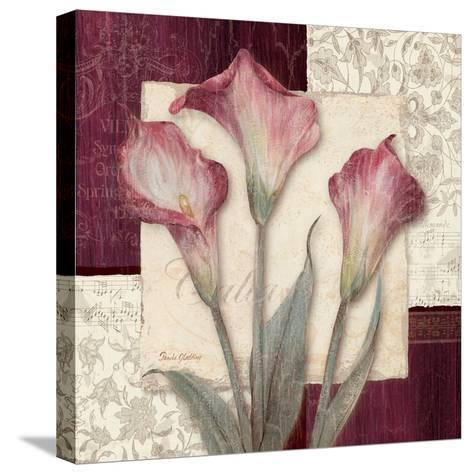Trio Sonata I-Pamela Gladding-Stretched Canvas Print