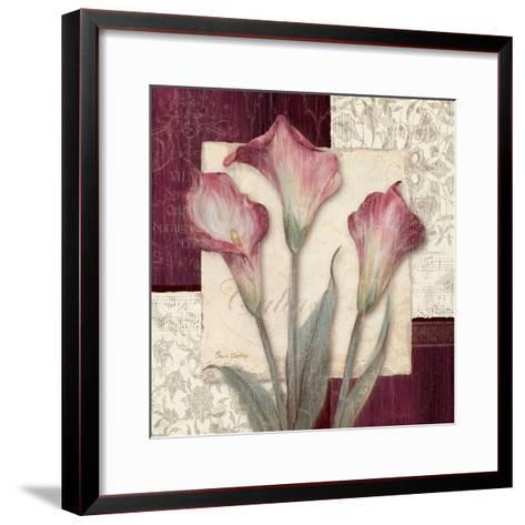 Trio Sonata I-Pamela Gladding-Framed Art Print
