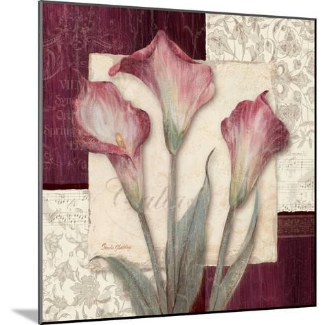 Trio Sonata I-Pamela Gladding-Mounted Premium Giclee Print