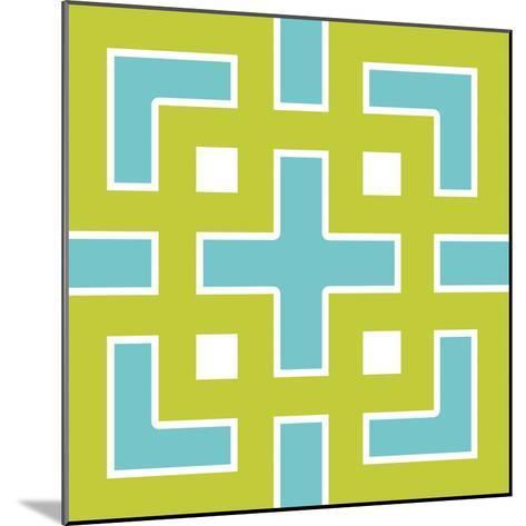 Graphic Pattern III-N^ Harbick-Mounted Art Print