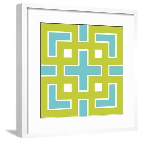 Graphic Pattern III-N^ Harbick-Framed Art Print