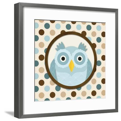 O Is for Owl I-N^ Harbick-Framed Art Print