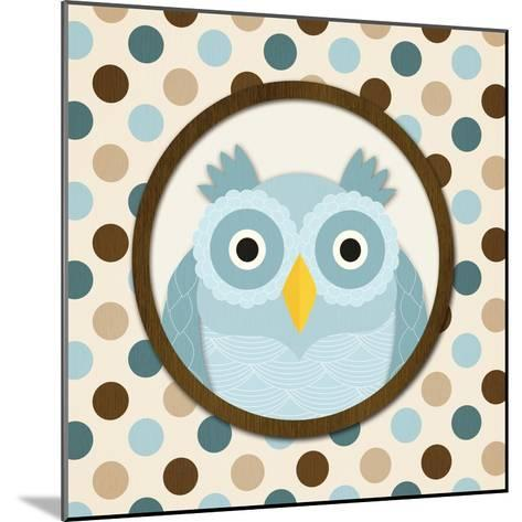 O Is for Owl I-N^ Harbick-Mounted Art Print