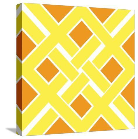 Graphic Pattern IV-N^ Harbick-Stretched Canvas Print