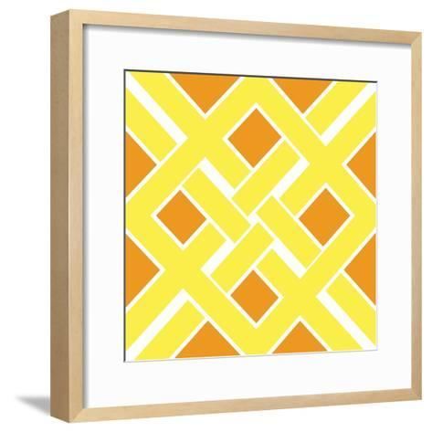 Graphic Pattern IV-N^ Harbick-Framed Art Print