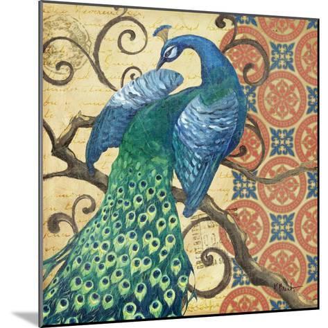 Peacock's Splendor II-Paul Brent-Mounted Premium Giclee Print