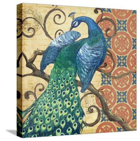 Peacock's Splendor II-Paul Brent-Stretched Canvas Print