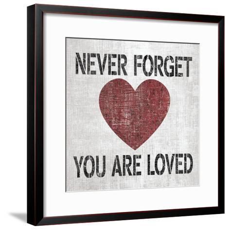 You Are Loved Sq-N^ Harbick-Framed Art Print