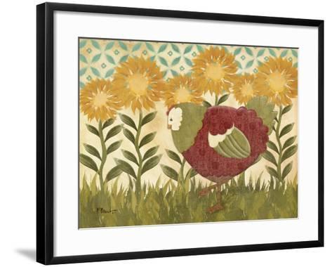 Sunny Hen II-Paul Brent-Framed Art Print