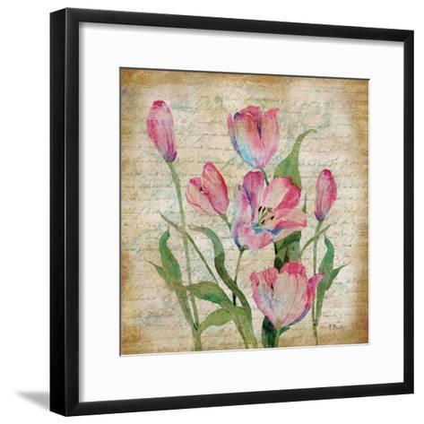 Poetic Garden II-Paul Brent-Framed Art Print