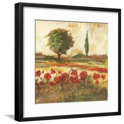 Poppy Field III-Gregory Gorham-Framed Art Print