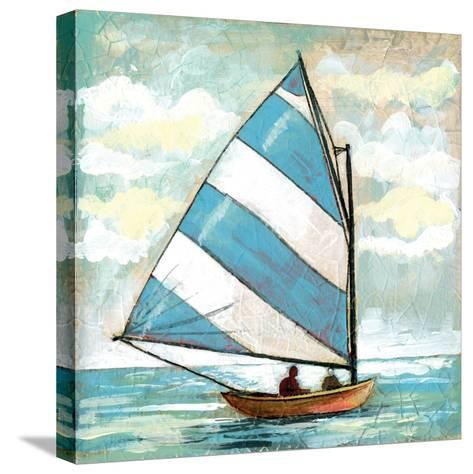 Sailboats I-Gregory Gorham-Stretched Canvas Print