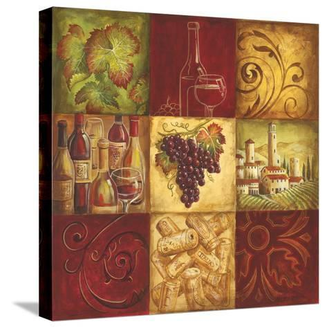 Tuscan Wine II-Gregory Gorham-Stretched Canvas Print