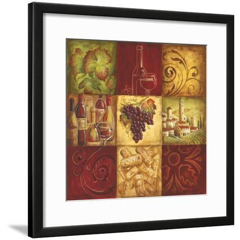 Tuscan Wine II-Gregory Gorham-Framed Art Print