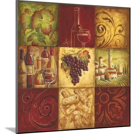 Tuscan Wine II-Gregory Gorham-Mounted Premium Giclee Print