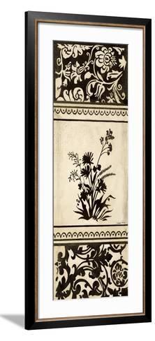 Garden Shadow II-Kimberly Poloson-Framed Art Print