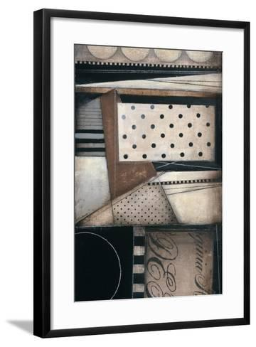 Fancy Letters II-Kimberly Poloson-Framed Art Print