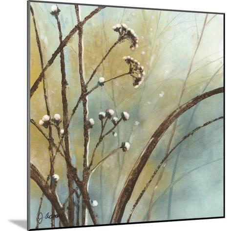 Fall Meadow III-J^ Adams-Mounted Art Print