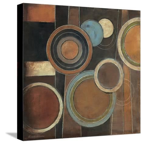 Abstract Circles I-Kimberly Poloson-Stretched Canvas Print